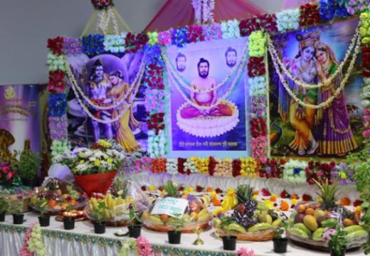 অদ্বৈতানন্দ পুরী গুরু মহারাজের ১১৫ তম শুভ আবির্ভাব তিথি উদযাপন