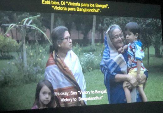 স্পেনে এশিয়ান চলচ্চিত্র প্রদর্শনী উৎসবে 'হাসিনা:এ ডটার্স টেল ' প্রদর্শিত