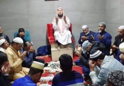 নাপোলী ভিয়া রোমা মোহাম্মদিয়া মসজিদ উদ্বোধন করেছে প্রবাসীরা