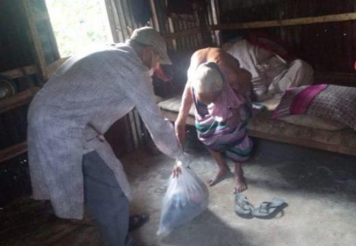 বিয়ানীবাজারে সিপিবি'র ত্রাণ বিতরণ অব্যাহত