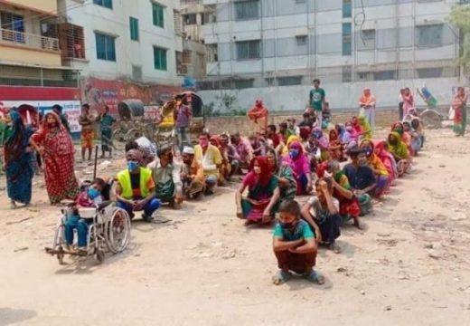 দুস্থ মানুষের পাশে 'সারা বাংলা এসএসসি ব্যাচ'