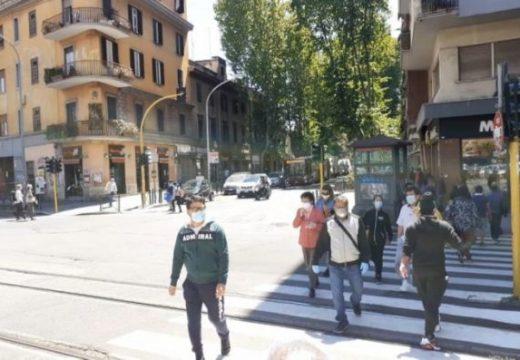 লকডাউন শিথিলের প্রথম দিনে ইতালীতে ৪৫ লাখ লোক বেরিয়েছে