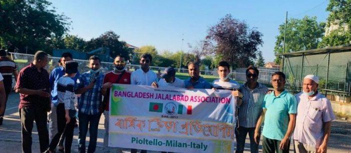 জালালাবাদ এসোসিয়েশন pioltello, Milano এর আয়োজনে ব্যাটমিন্টন খেলার উদ্ভোধন