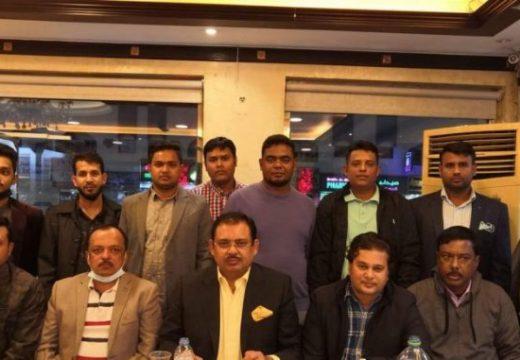 শরিয়তপুর জেলা বিএনপির সভাপতির সৌজন্যে আজমান বিএনপি'র নৈশভোজ