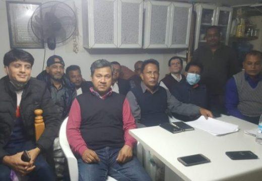 লেবাননে বিএনপি'র আহবায়ক কমিটি গঠন