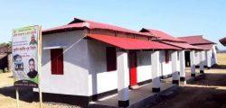 বড়লেখায় ৫০ জন ভূমিহীন ও গৃহহীন পরিবার প্রধানমন্ত্রীর উপহারের বাড়ির চাবি পেলো