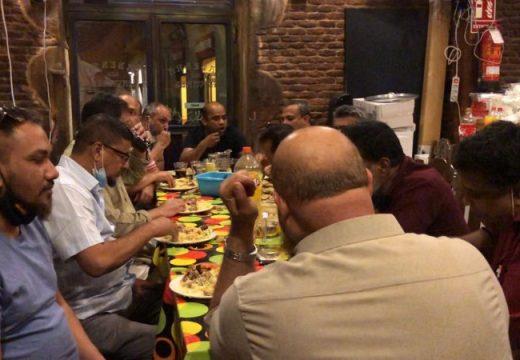 স্পেনে কমিউনিটি নেতৃবৃন্দের সম্মানে নৈশভোজ অনুষ্ঠিত